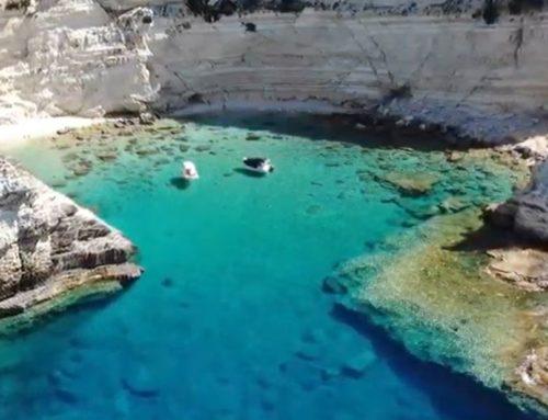 Αντίπαξοι: Η «μυστική» παραλία στον κάβο του Κέθρου που ξέρουν ελάχιστοι…