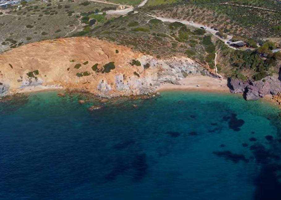 Παραλία Κάπε - Σούνιο
