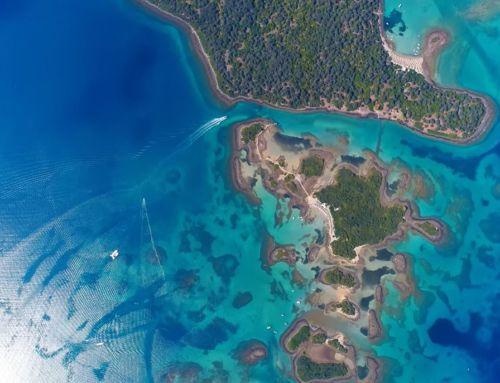 Λιχαδονήσια: Ο «παράδεισος» επί της… γης! Εικόνες από drone…
